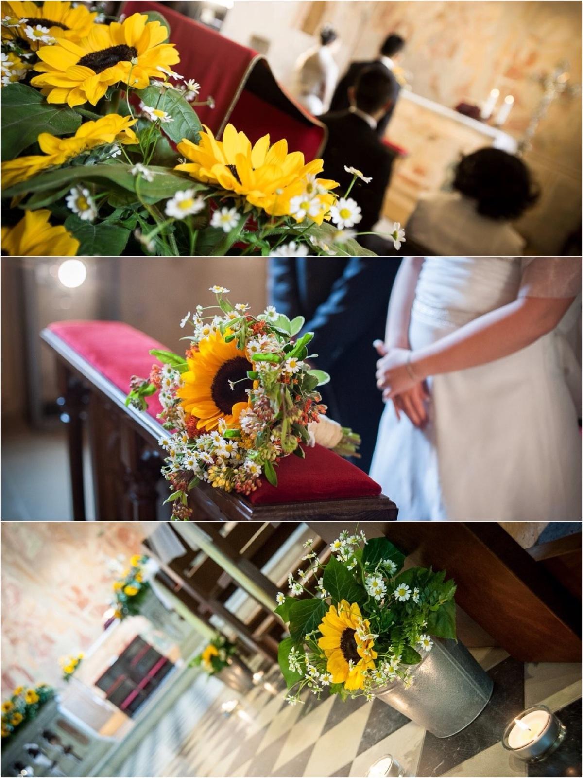 Tavoli Matrimonio Girasoli : Barbara e carlos wedding la cinzia